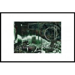 luc renders - Cercle de fer - Vert