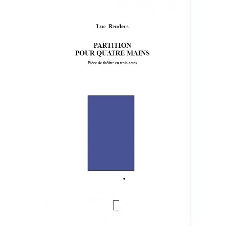 Luc Renders  -  Partition pour quatre mains