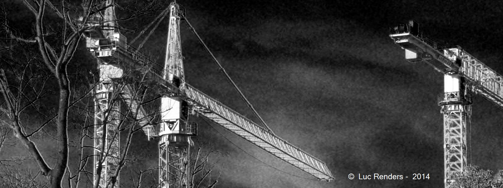 Luc Renders 2016 - Trees against towers